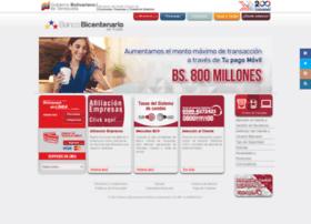 Bicentenariobu.com.ve thumbnail