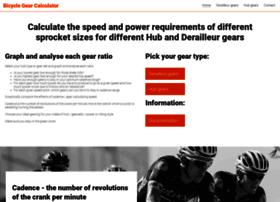 Bicyclegearcalculator.uk thumbnail