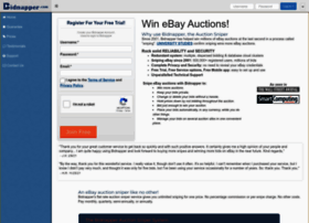Bidnapper Com At Wi Bidnapper Free Ebay Auction Sniper