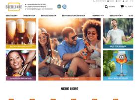 Bierlinie-shop.de thumbnail
