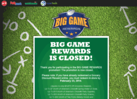 Biggamerewards.com thumbnail