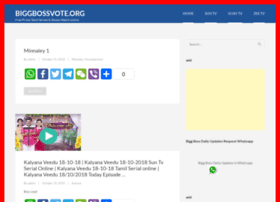 Biggbossvote.org thumbnail