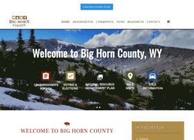 Bighorncountywy.gov thumbnail