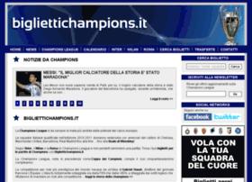 Bigliettichampions.it thumbnail