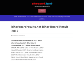 Biharboard.nicresults.in thumbnail