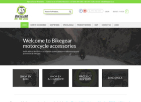 Bikegear.co.za thumbnail