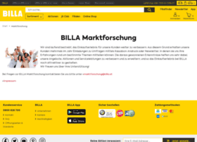 Billa-umfragen.at thumbnail