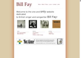Billfay.co.uk thumbnail