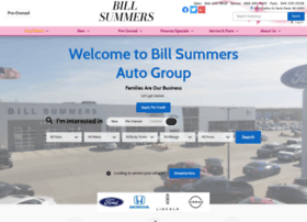 billsummers com at wi bill summers auto group new ford lincoln honda nissan dealership website informer informer technologies inc