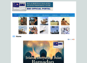 Bim.org.my thumbnail
