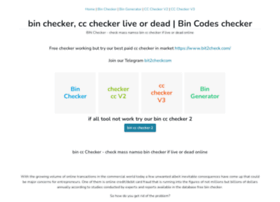 Bin-checker.net thumbnail
