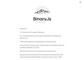 Binaryjs.io thumbnail
