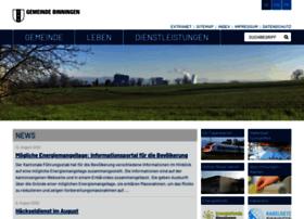 Binningen.ch thumbnail
