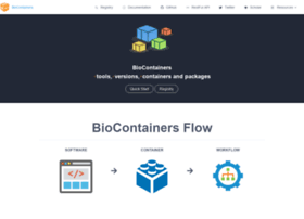 Biocontainers.pro thumbnail
