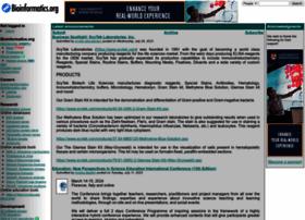 Bioinformatics.org thumbnail