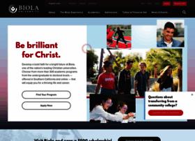 Biola.edu thumbnail