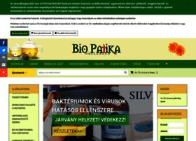 Biopatikawebaruhaz.hu thumbnail