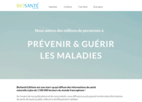 Biosante-editions.fr thumbnail