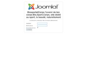 Biosportetcorps.fr thumbnail