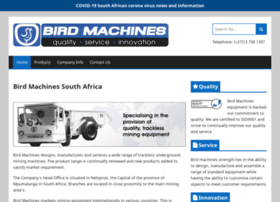 Birdmachines.co.za thumbnail