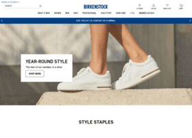 Birkenstockusa.com thumbnail