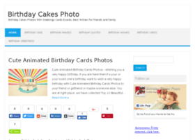 Birthdaycakesphoto.com thumbnail