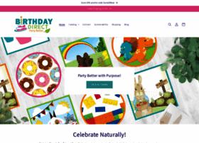 Birthdaydirect.com thumbnail