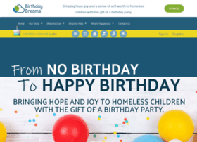 Birthdaydreams.org thumbnail