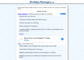 Birthdaymessages.com thumbnail