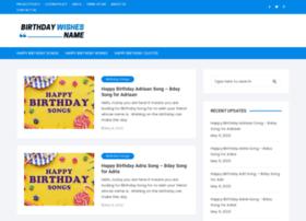 Birthdaywishesname.com thumbnail