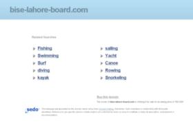 Bise-lahore-board.com thumbnail