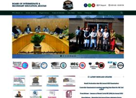 Bisemultan.edu.pk thumbnail