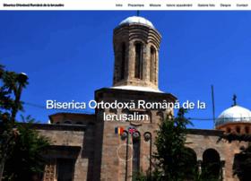 Bisericaromaneascadelaierusalim.ro thumbnail