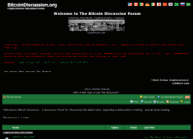 Bitcoindiscussion.org thumbnail