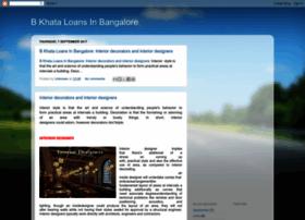 Bkhataloansinbangalore.blogspot.in thumbnail