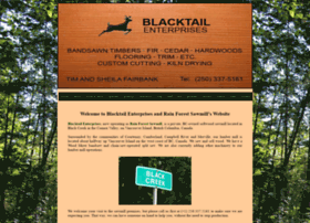 Blacktailsawmill.ca thumbnail