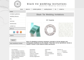 Blacktieweddinginvitations.com.au thumbnail