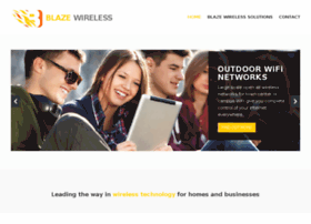 Blaze-wireless.co.uk thumbnail