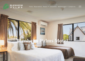 Blenheimpalmsmotel.co.nz thumbnail