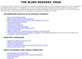 Blindreaders.info thumbnail