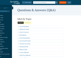 Prove It Accounting Test Questions at Website Informer