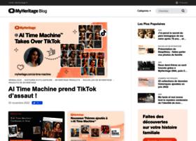 Blog.myheritage.fr thumbnail