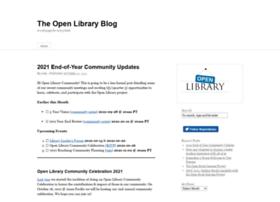 Blog.openlibrary.org thumbnail