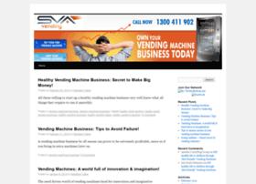 vending machine website