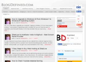 Blogdefined.com thumbnail