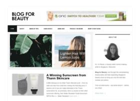 Blogforbeauty.com thumbnail