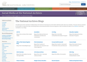Blogs.archives.gov thumbnail
