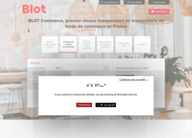 Blot-commerce.fr thumbnail