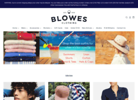 Blowesclothing.com.au thumbnail