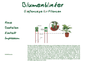 Blumenblinker.de thumbnail